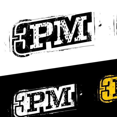 Heavy metal logo with the title '3PM Punk Band'