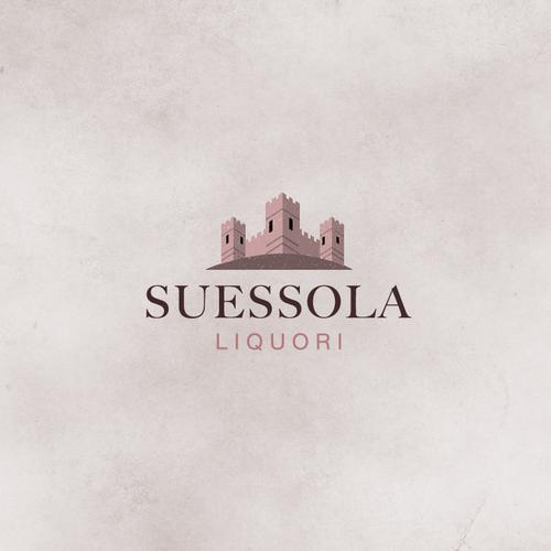 Pattern label with the title 'Suessola Liquori'