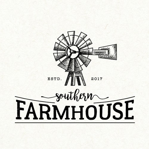 Farmhouse Logos The Best Farmhouse Logo Images 99designs