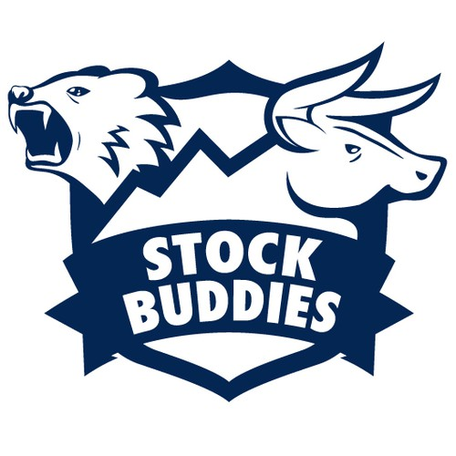 Bull brand with the title 'Logo design for a stock business'