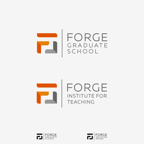 Institute logo with the title 'FORGE | Graduate School'