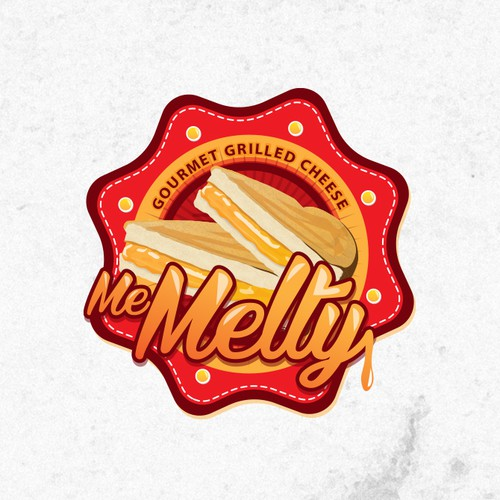 Yummy design with the title 'Create a winning logo for the next thing in Gourmet Grilled Cheese!'