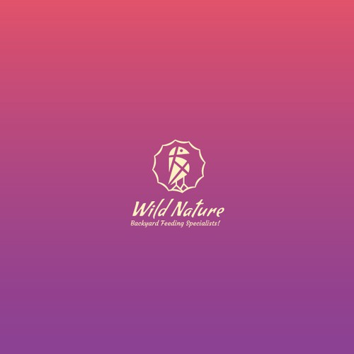 Creature design with the title 'Creative Bird Logo for Wild Nature'