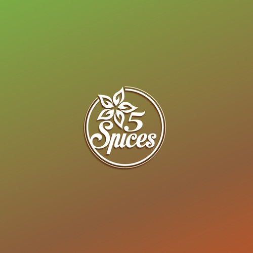 Fine Art logo with the title '5 spices'