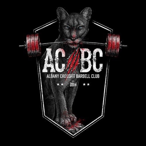 Lion illustration with the title 'AC/BC'
