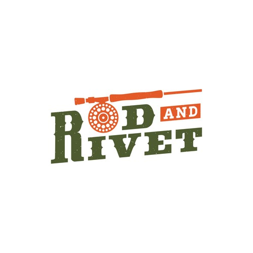Trout design with the title 'Rod and Rivet'