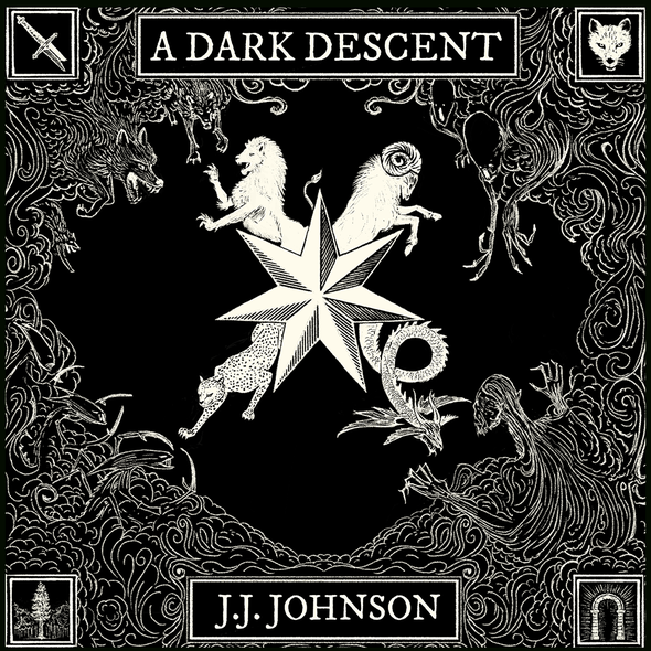 Dark design with the title 'Book Cover '