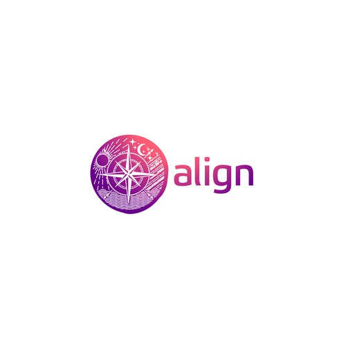 Midnight logo with the title 'align'