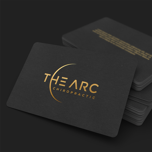 Chiropractic design with the title 'The ARC Chiropractic'
