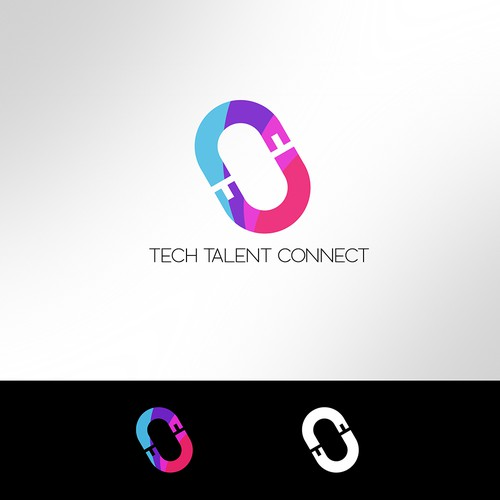 Talent logo with the title 'Tech Talent Connect'