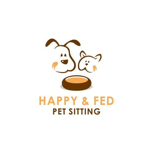 Feed logo with the title 'Logo for pet sitting services'