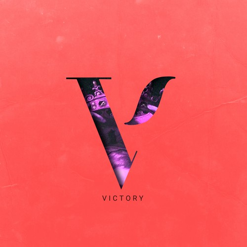 Vibrant artwork with the title 'Victory'