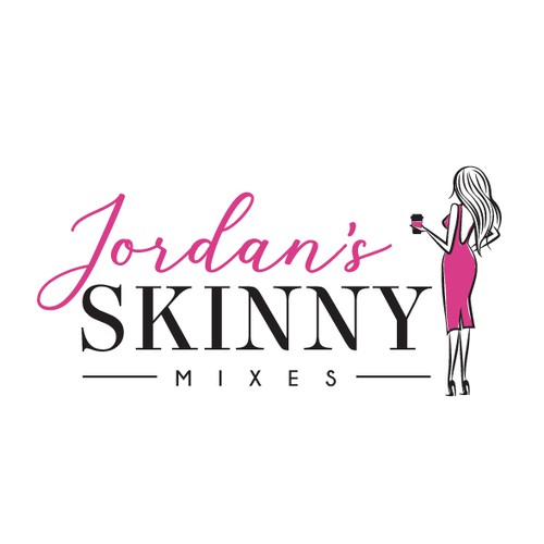 Daughter logo with the title 'Modern Feminine Logo Revamp for Beverage Company'