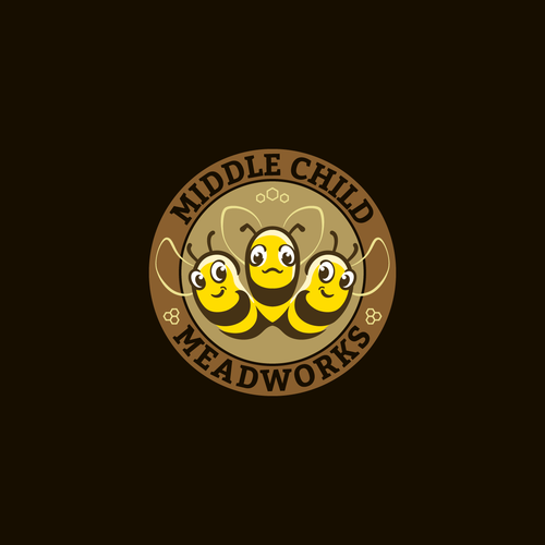 Yellow and brown design with the title 'Logo FOR SALE!'