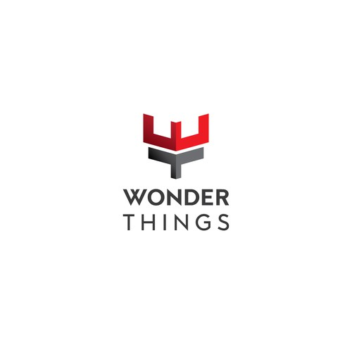 Wonder logo with the title 'Logo for online store'