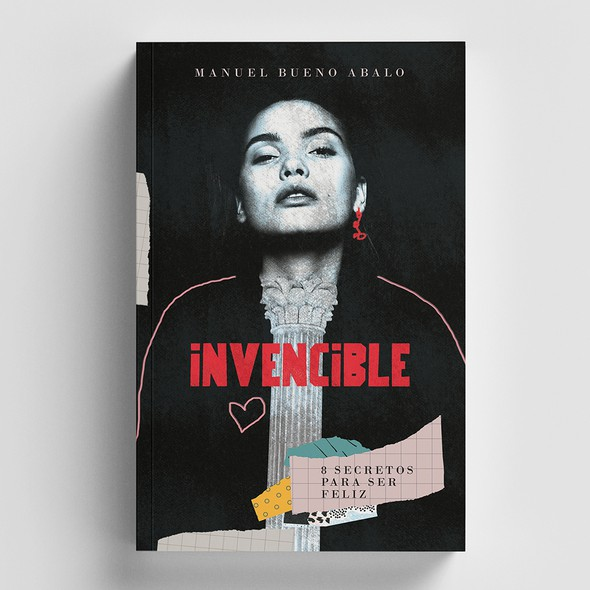 College book cover with the title 'INVENCIBLE'