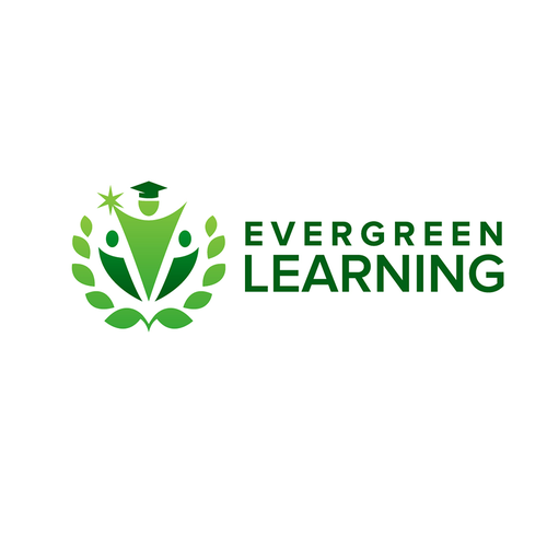 Logo with the title 'Evergreen Learning Design'