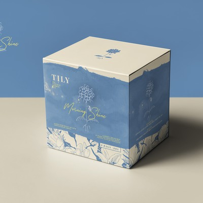 box design for a tea company