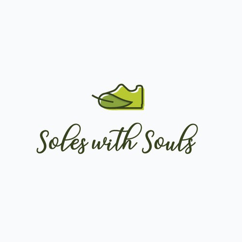 Pure logo with the title 'Organic Shoe'
