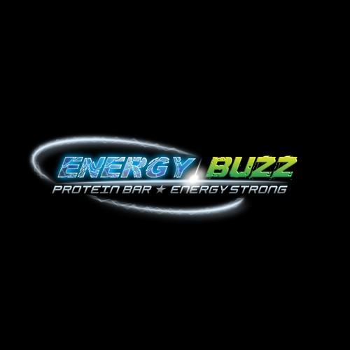 Energy logo with the title 'Neues Logo für einen Energie-Riegel'