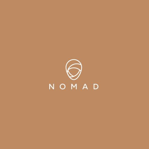 Clean logo with the title 'Nomad Logo'