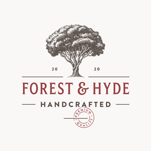 Taiga logo with the title 'Forest & Hyde'