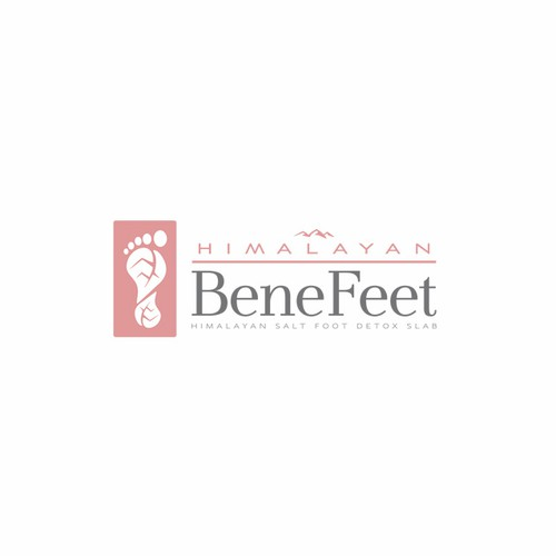 Foot logo with the title 'Himalayan BeneFeet'