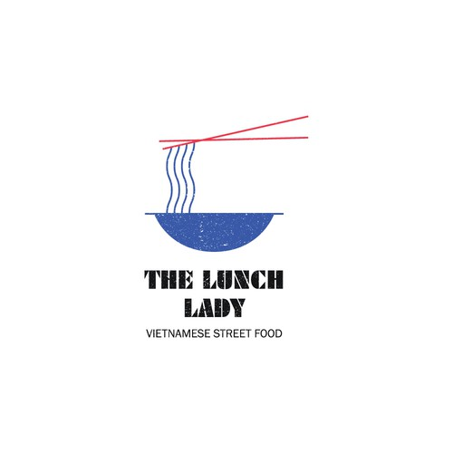 Vietnam logo with the title 'The Lunch Lady – Vietnamese street food'