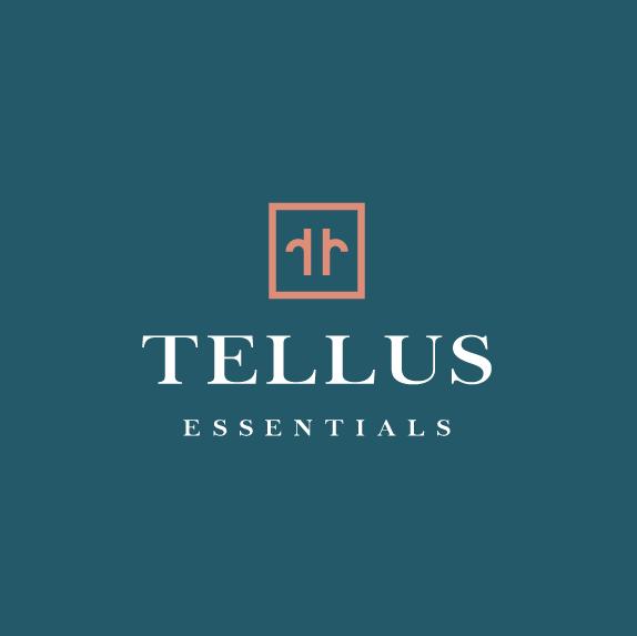 T logo with the title 'Tellus Essentials'