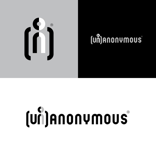 Simple logo with the title '(Un)Anonymous'