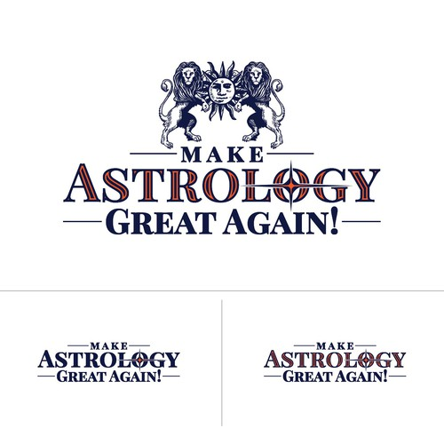 Zodiac logo with the title 'Make Astrology Great Again!'