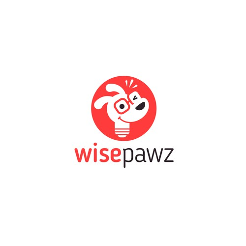 Optics logo with the title 'WisePaws'