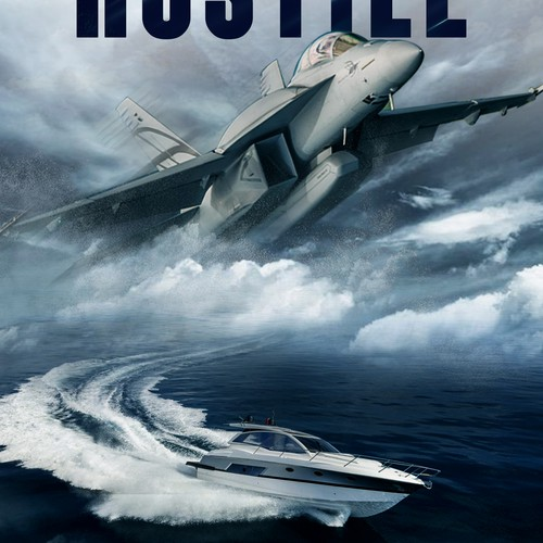 Board design with the title 'hostile'