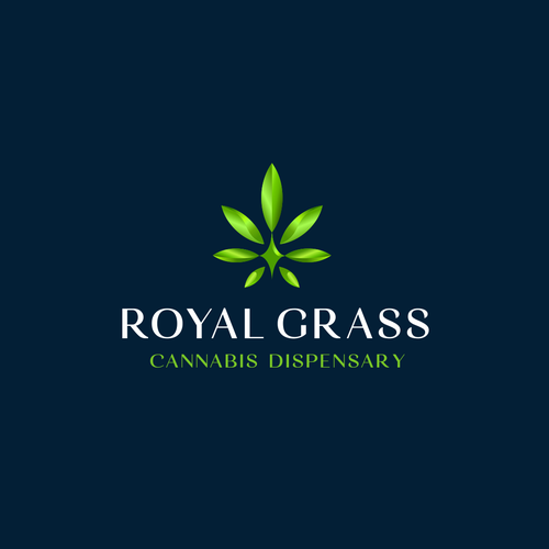 Playful brand with the title 'Royal Grass'