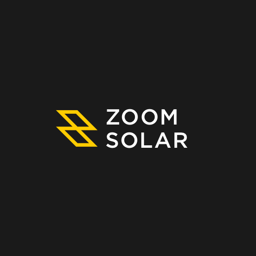 Solar company logo with the title 'Logo for Zoom Solar'