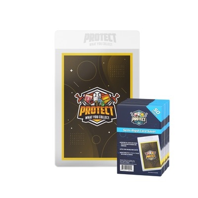 Retail Packaging for Sports Card Supplies