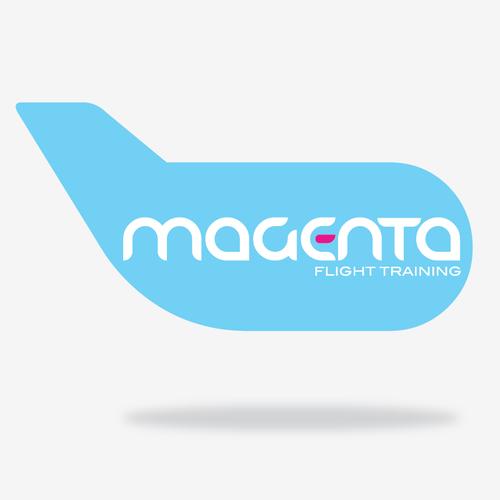Cyan design with the title 'magenta'
