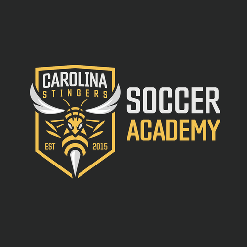 Wasp design with the title 'Carolina Stingers '