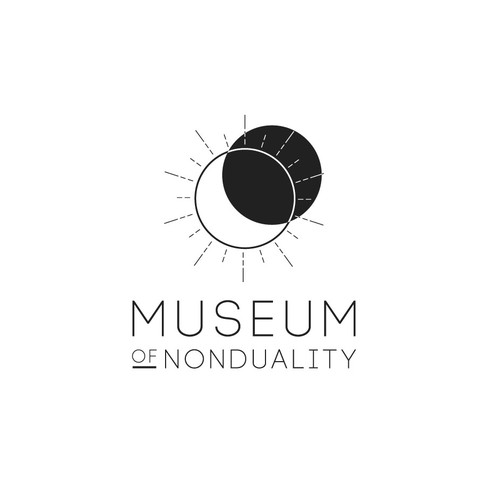 Religious logo with the title 'Museum of Nonduality'