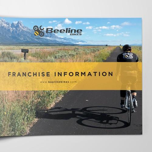 Bike design with the title 'beeline'