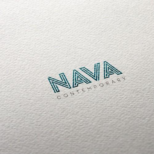 Aqua brand with the title 'NAVA Contemporary'
