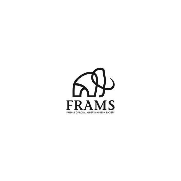 Mammoth design with the title 'Minimalistic logo design'