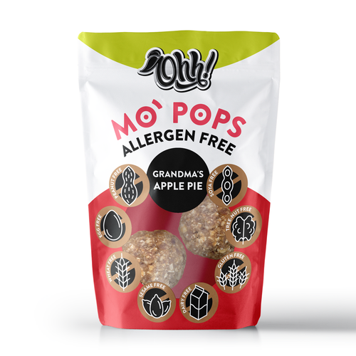 Wellness packaging with the title 'MO' POPS'