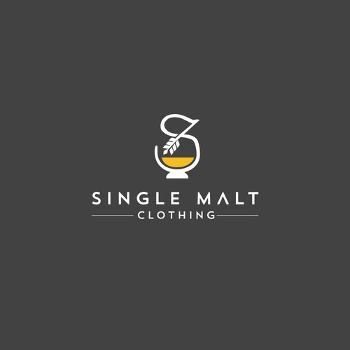 Apparel brand with the title 'Single Malt Clothing'