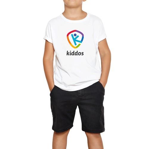 Kindergarten design with the title 'kiddos'