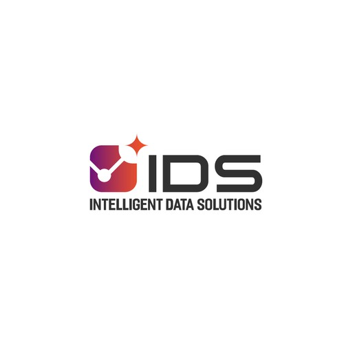 Statistics design with the title 'Slick logo for IDS data warehousing solutions'