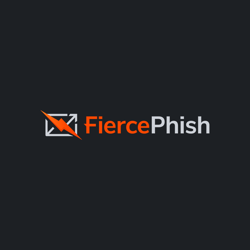 Cyber security logo with the title 'Striking logo for open-source phishing framework'