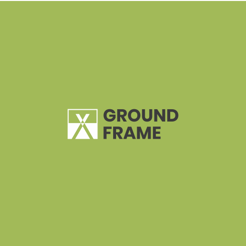 Literal logo with the title 'Technical logo for construction product: Ground Frame'