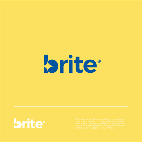 Shiny logo with the title 'Brite Logo Refresh'
