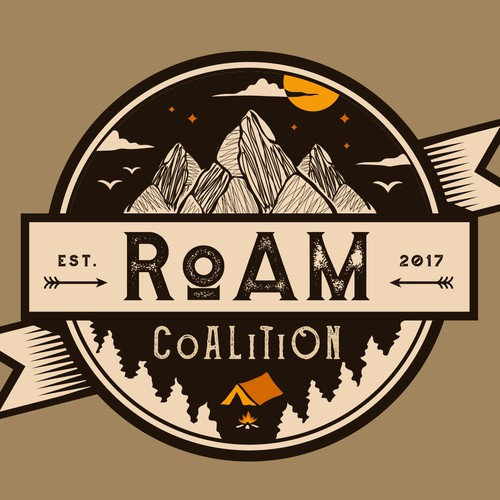 Journey design with the title 'RoAM CoALiTiON'